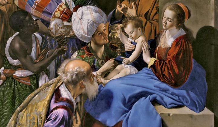 La Adoración de los Reyes Magos, de Fray Juan Bautista Maíno