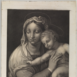 Sagrada Familia con Rafael, Tobías y San Jerónimo, o Virgen del pez (detalle)