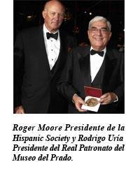 La Hispanic Society of America concede la medalla Sorolla a Rodrigo Uría por su contribución a la conservación del arte y la cultura hispánica