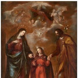 La Sagrada Familia o La Trinidad en la Tierra