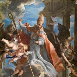 El triunfo de san Agustín