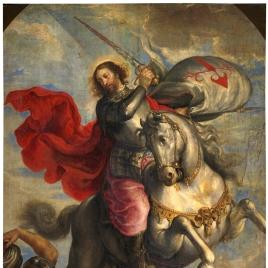 El Apóstol Santiago a caballo, o Santiago Matamoros