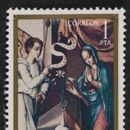 Serie de sellos Luis Morales
