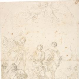 Martirio de San Jorge y Santa Alejandra Emperatriz