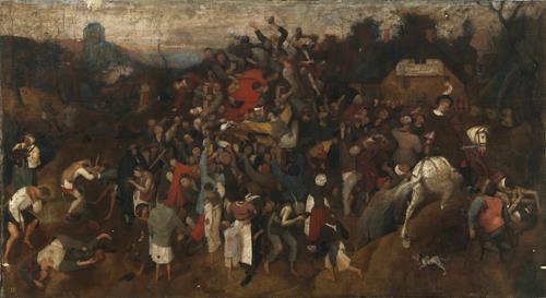 Vino de la fiesta de san Martín, El [Pieter Bruegel el Viejo]