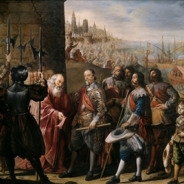 The Relief of Genoa by the II Marquis of Santa Cruz