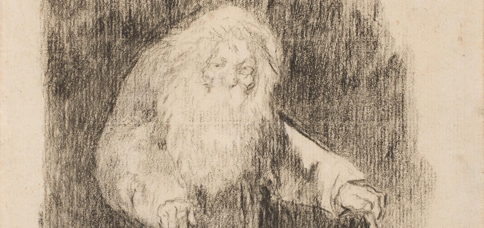 Instalación temporal: Dibujos de Goya restaurados
