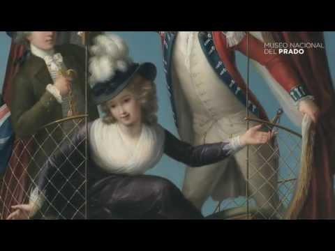 Obras comentadas: Los tres viajeros aéreos favoritos, John-Francis Rigaud, (1785), por Gabriele Finaldi