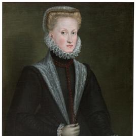 Retrato de la reina Ana de Austria