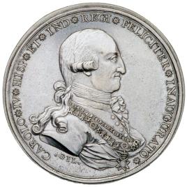 El Tribunal Real de las Minas de Nueva España en la proclamación de Carlos IV
