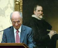 SS.AA.RR. los Príncipes de Asturias presiden la entrega del Premio Velázquez 2006 a Antonio López