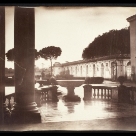 Logia de la Villa Medici, Roma.