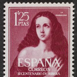 Serie de sellos Tercer centenario de Ribera