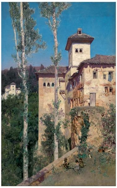 La Torre de las Damas in the Alhambra, Granada