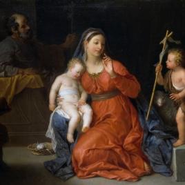 Sagrada Familia con San Juan