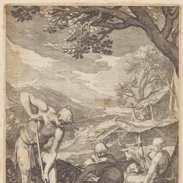 Primera labor de Adán y Eva