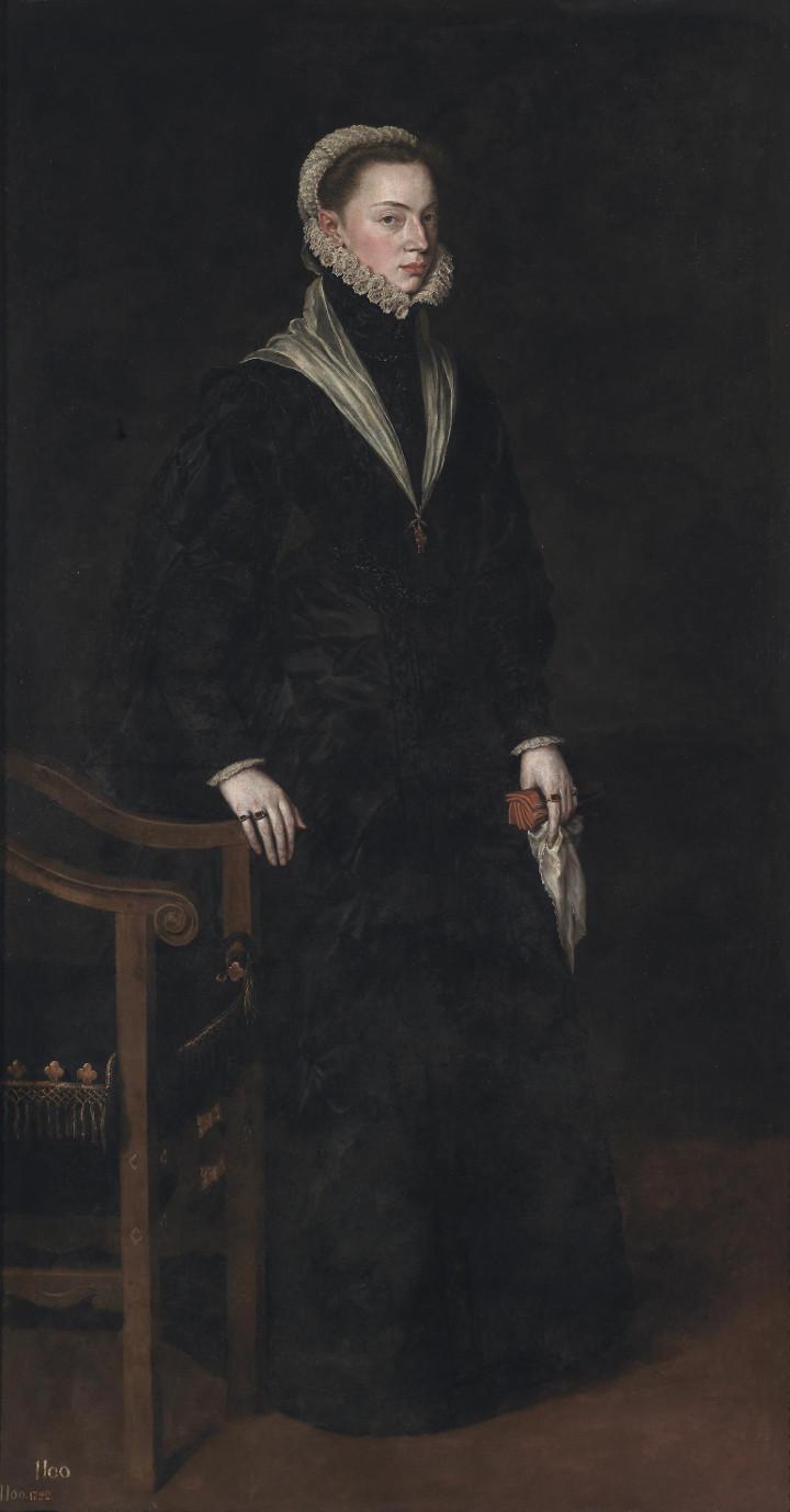 Doña Juana de Austria, de Antonio Moro