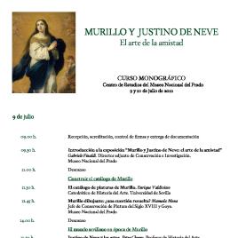 Murillo y Justino de Neve [Recurso electrónico] : el arte de la amistad : curso monográfico / Museo Nacional del Prado.