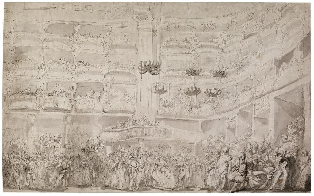 El dibujo en el siglo XVIII