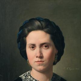 Retrato de su esposa