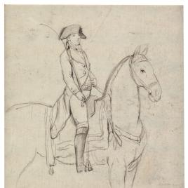 Manuel Godoy a caballo