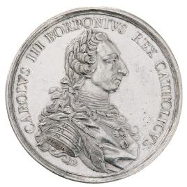 Proclamación de Carlos III en Madrid