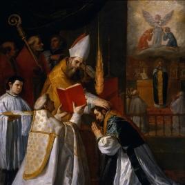 Ordenación y primera misa de San Juan de Mata