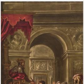 Nombramiento de san Ambrosio como gobernador de Liguria y Emilia